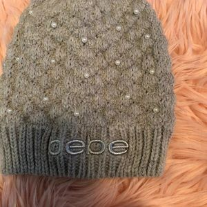 🍀New Bebe Logo Hat So delicate and cute!!!